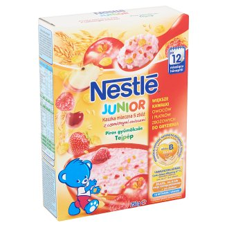 Nestlé Junior Milk Porridge with Red Fruit 12+ Months 250 g