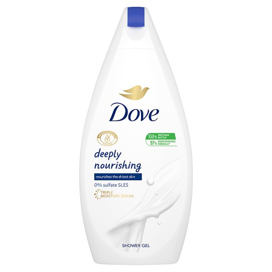 Dove Deeply Nourishing Shower Gel 500 ml