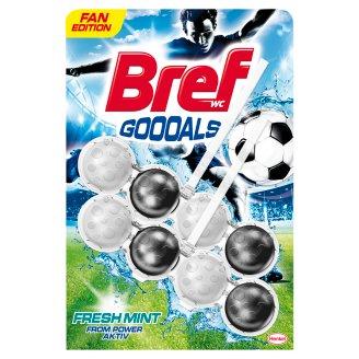 Bref Power Aktiv Goooals Fresh Mint Toilet Block 2 x 50 g