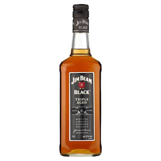 Jim Beam Black Label Bourbon Whiskey 43% 0,7 l