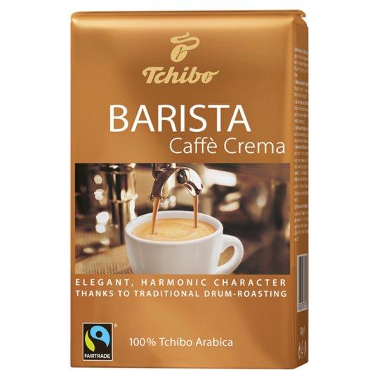 Tchibo Barista Caffè Crema szemes pörkölt kávé 500 g