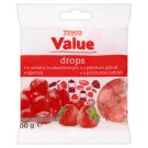 Tesco Value Strawberry Flavoured Drops 100 g