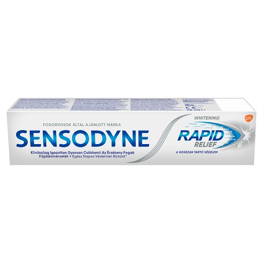 Sensodyne Rapid Whitening Toothpaste 75 ml