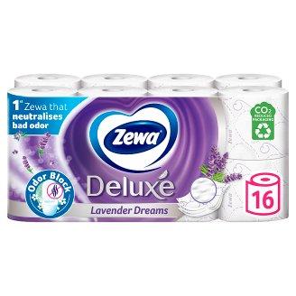 Zewa Deluxe Lavender Dreams toalettpapír 3 rétegű 16 tekercs