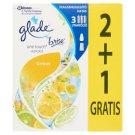 Glade by Brise One Touch Citrus Mini Spray koncentrált aeroszolos légfrissítő utántöltő 3 x 10 ml