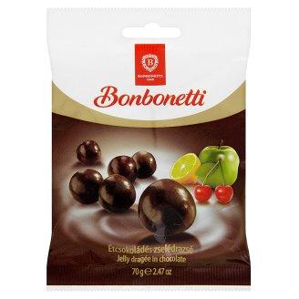 Bonbonetti étcsokoládés zselédrazsé 70 g
