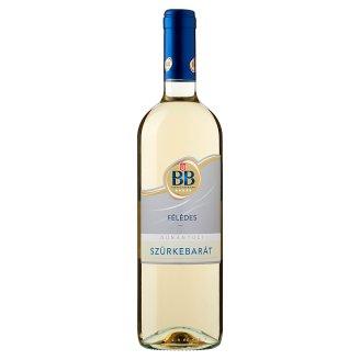 BB Dunántúli Szürkebarát félédes fehérbor 0,75 l