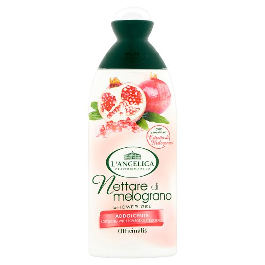 L'Angelica Officinalis Shower Gel with Pomegranate Extract 250 ml