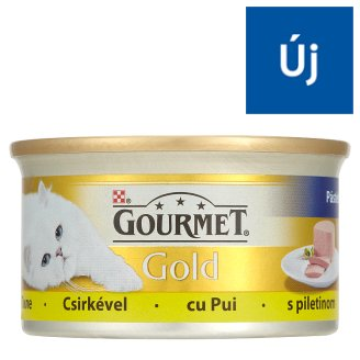 Gourmet Gold Complete Pet Food for Adult Cats with Chicken Paste 85 g