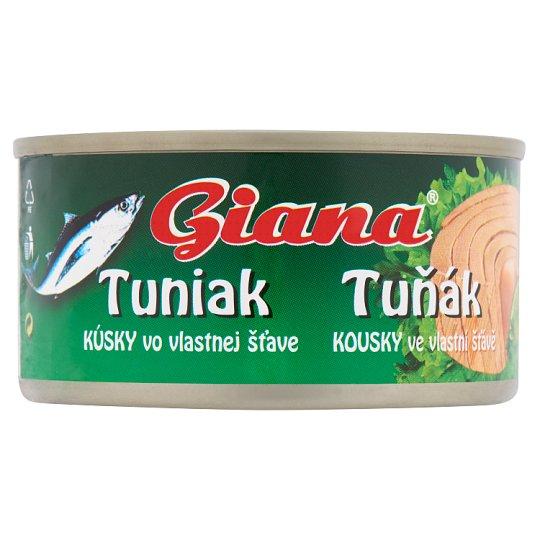 Giana tonhal darabok saját lében 185 g