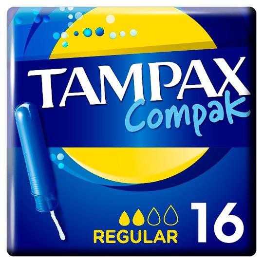 Tampax Compak Regular Applikátoros Tampon, 16 db