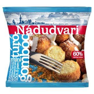 Nádudvari Quick-Frozen Mini Cottage Cheese Dumplings 240 g