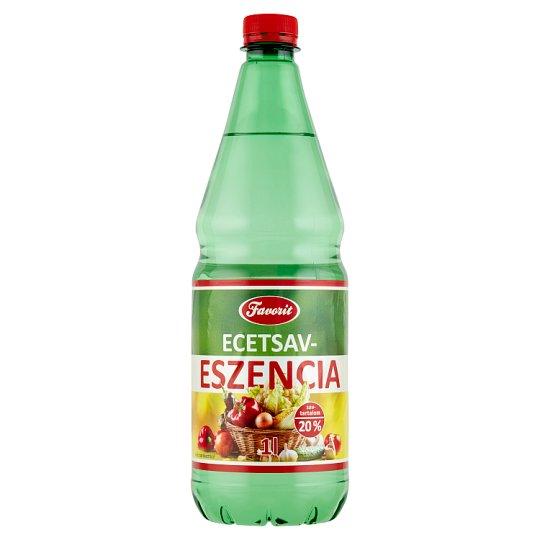 Favorit Vinegar Essence 20% 1 l