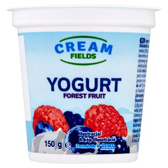 Cream Fields Low-Fat Forest Fruit Yoghurt with Live Culture 150 g
