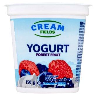 Cream Fields zsírszegény, élőflórás, erdei gyümölcs ízű joghurt 150 g