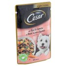 Cesar Complete Pet Food with Soft Beef and Carrot in Aspic for Adult Dogs 100 g