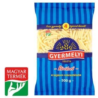Gyermelyi Short Macaroni Dry Pasta with 4 Eggs 500 g