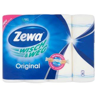 Zewa Wisch & Weg Original háztartási papírtörlő 2 rétegű 4 tekercs