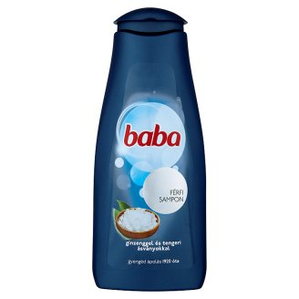 Baba Shampoo for Men with Ginseng & Sea Minerals 400 ml