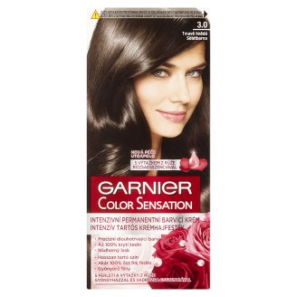 Garnier Color Sensation 3.0 Dark Brown Intensive Permanent Hair Colorant