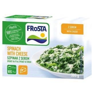 FRoSTA gyorsfagyasztott spenót sajtszósszal 300 g