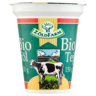 Zöldfarm BIO homogénezett tejföl 20% 150 g