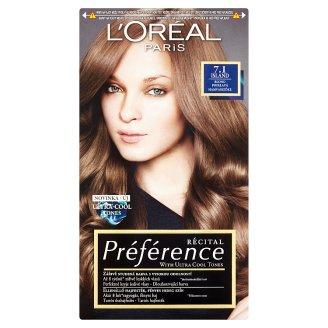 L'Oréal Paris Préférence 7.1 Island Hamvasszőke tartós hajfesték