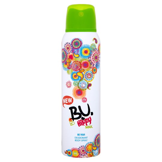 B.U. Hippy Soul Deodorant Body Spray 150 ml
