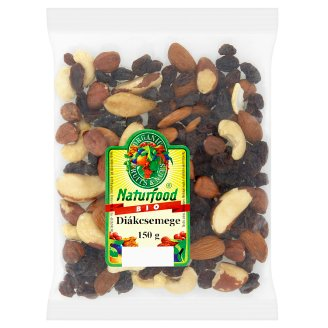 Naturfood Organic Diákcsemege Dried Fruits and Nuts Mix 150 g