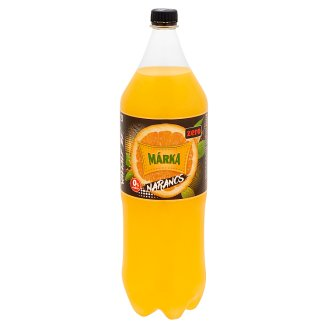 Márka Zero Energy-Free Orange-Passion Fruit Flavoured Carbonated Soft Drink with Sweeteners 2 l