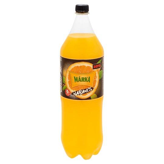 Márka Zero energiamentes narancs-maracuja ízű szénsavas üdítőtal édesítőszerekkel 2 l