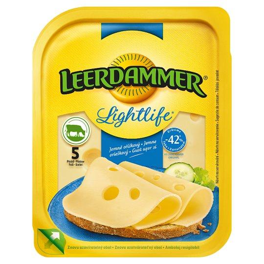 Leerdammer Lightlife félzsíros félkemény, szeletelt sajt 100 g