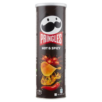 Pringles Hot & Spicy Hot Flavoured Snack 165 g