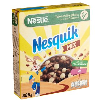 Nestlé Nesquik Duo Cocoa and Vanilla Flavoured Cereals 225 g