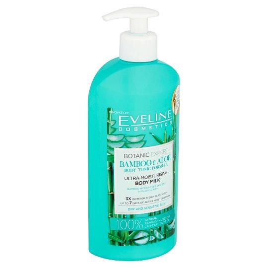 Eveline Cosmetics Botanic Expert Bamboo & Aloe Ultra-Moisturising Body Milk 350 ml