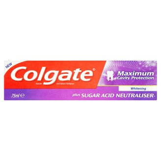 Colgate Maximum Cavity Protection Whitening Toothpaste 75 ml