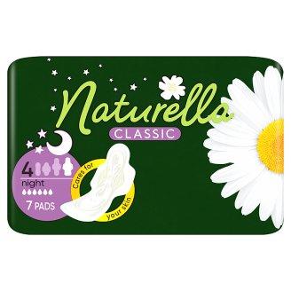 Naturella Classic Night Camomile Éjszakai Egészségügyi Betét, 7 db
