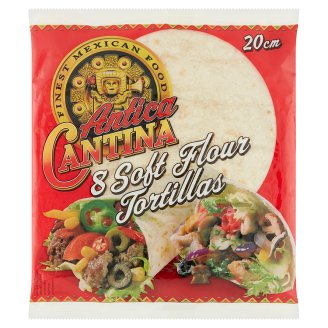 Antica Cantina Wheat Tortilla 20 cm 8 pcs 320 g