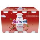 Danone Actimel Low-Fat Cranberry and Red Currant Flavoured Yoghurt Drink with Live Culture 8 x 100 g