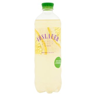 Vöslauer Balance Juicy Lemon Flavoured Carbonated Drink 0,75 l