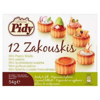 Gourmet Pidy mini levelestészta kosárka 12 db 54 g