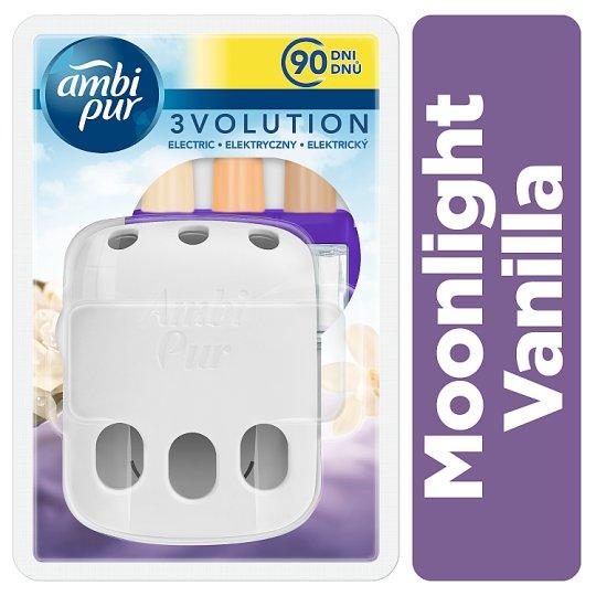 Ambi Pur 3Volution Air Freshener Plug-In Starter Kit Moonlight Vanilla 20ml