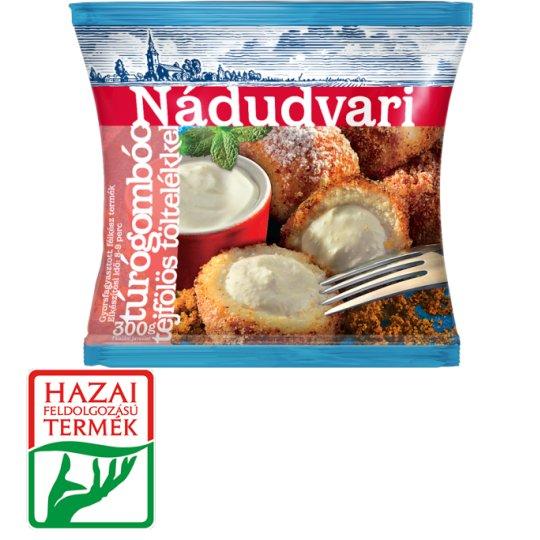 Nádudvari Quick-Frozen Cottage Cheese Dumplings with Sour Cream Filling 300 g