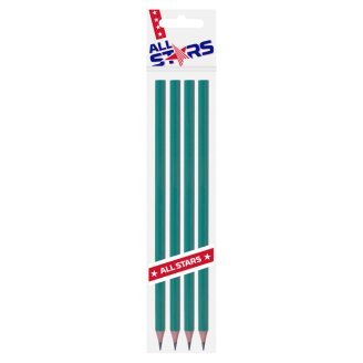 All Stars Wood-Free Flexible HB Graphite Pencil 4 pcs