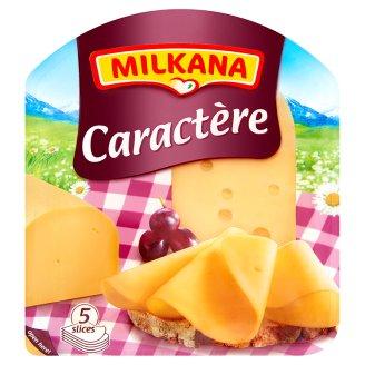 Milkana Caractère szeletelt lyukas sajt, laktózmentes 100 g
