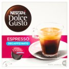 Nescafé Dolce Gusto Espresso Decaffeinato Decaffeinated Roast & Ground Coffee 16 pcs 112 g