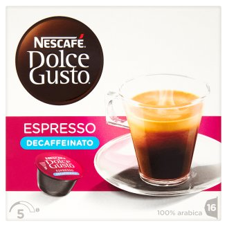 Nescafé Dolce Gusto Espresso Decaffeinato Decaffeinated Roast & Ground Coffee 16 pcs 112 g