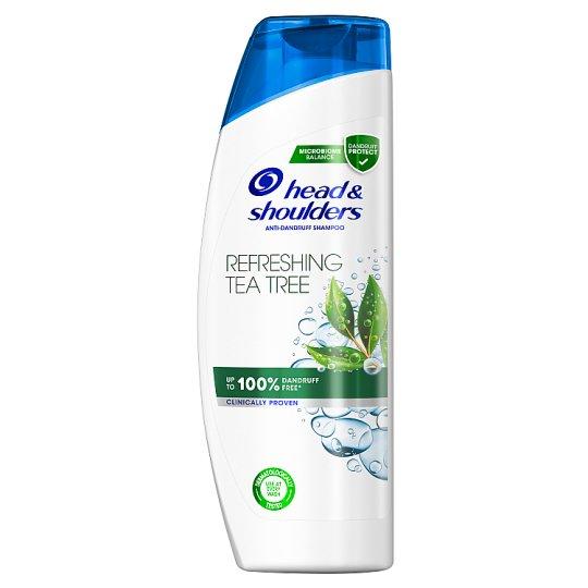 Head & Shoulders Refreshing Tea Tree Korpásodás Elleni Sampon, 400 ml