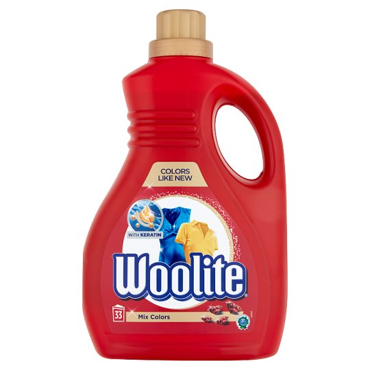 Woolite Mix Colors Color Liquid Detergent for Coloured Clothes 33 Washes 2 l