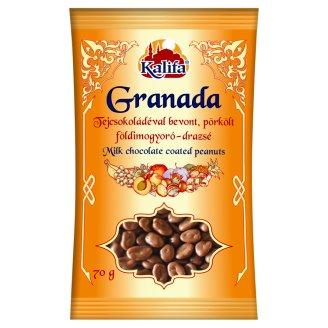 Kalifa Granada Peanut Dragee Mix Dipped in Milk Chocolate 70 g